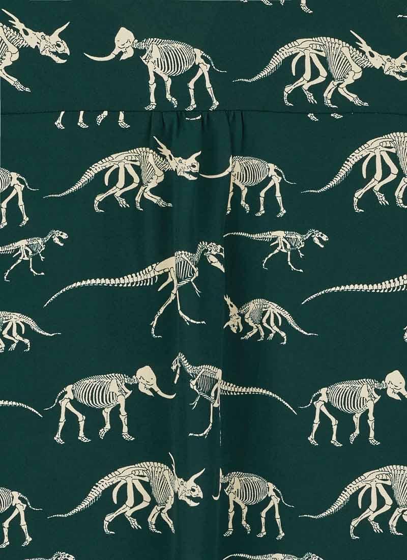 Ali Dinosaur Print Blouse