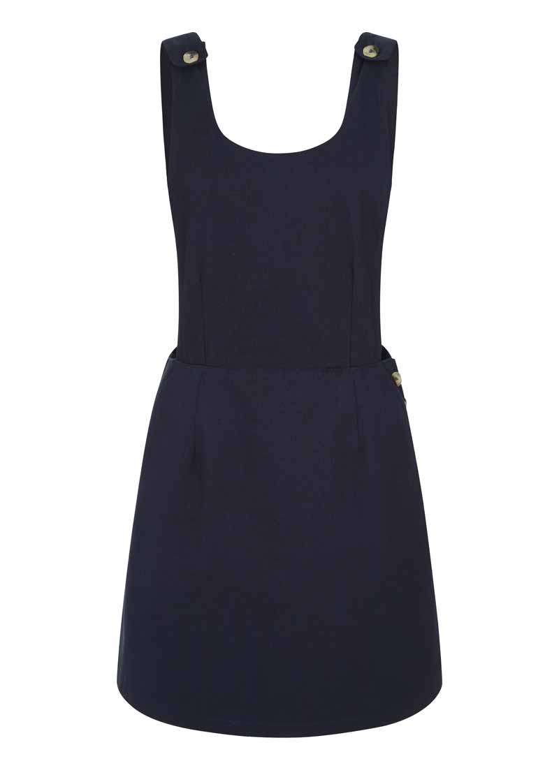 Bowery Apron Pinafore Dress Product Front