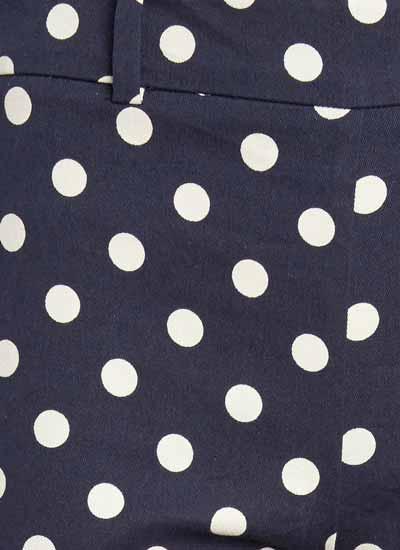 Brigitte Cigarette Trousers - Polka Dot