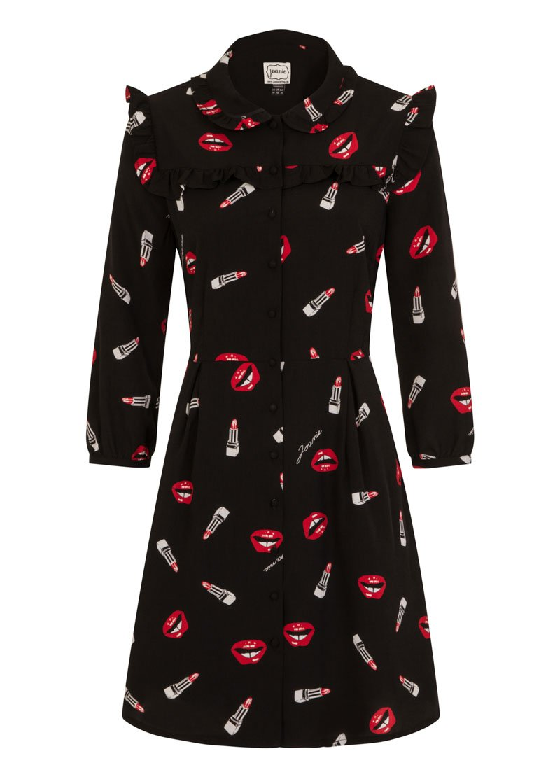 Corey Lips Print Dress Product Front