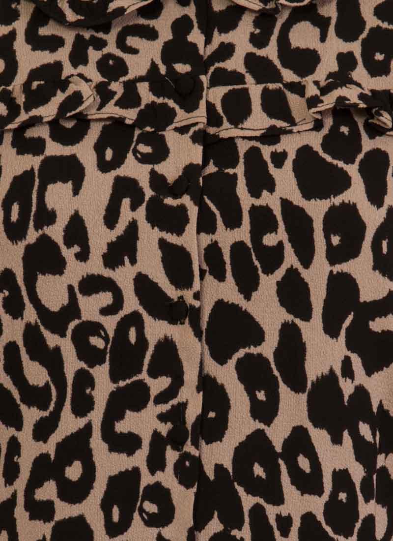 Corey Leopard Print Dress