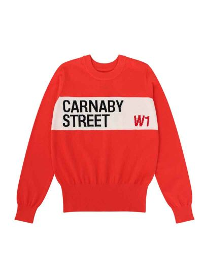 Bailey Carnaby Street Intarsia Jumper Product Front