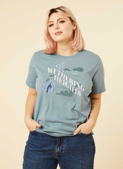 Cathy Wuthering Heights Slogan Tee