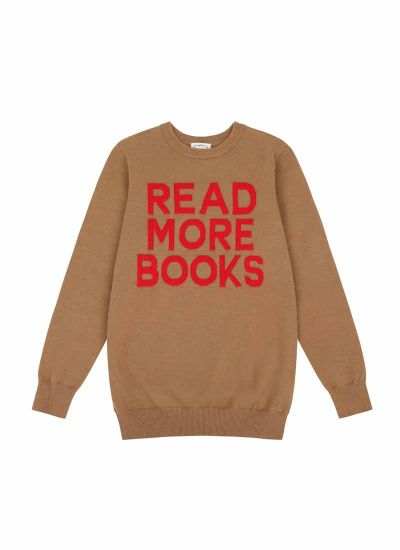 Eastman Read More Books Slogan Jumper Product Front