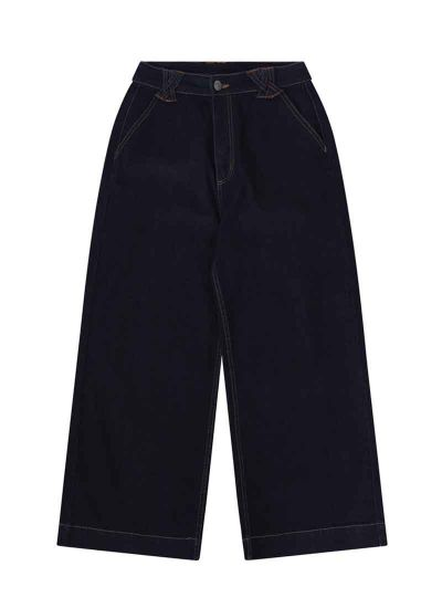 Fawcett Wide Leg Crop Jeans Product Front