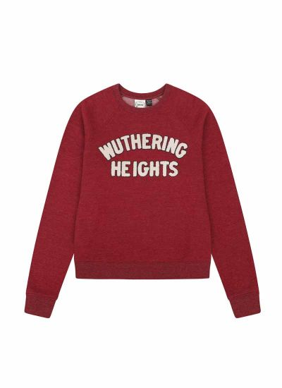Heathcliff Wuthering Heights Slogan Sweatshirt Product Front