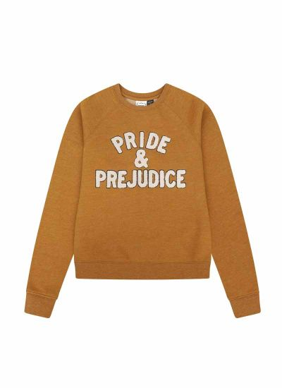 Lydia Pride & Prejudice Sweatshirt Product Close-Up