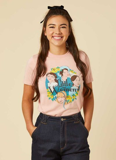 March Little Women Illustration Print Tee