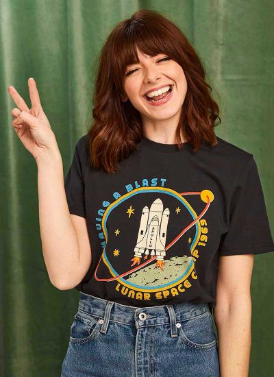 Joanie X Sophia Rosemary Dustin Space Camp Tee