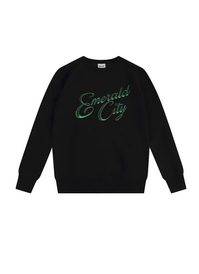 Oz Emerald City Slogan Sweatshirt Product Front