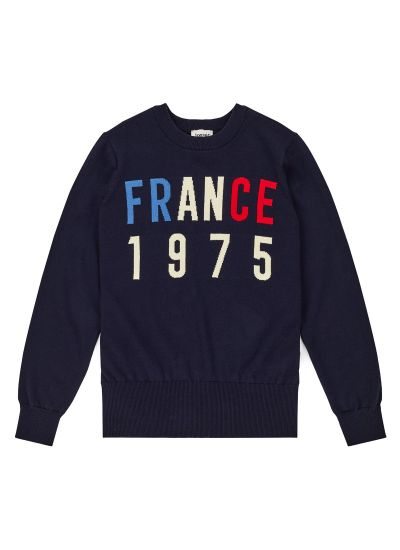 Paname France 1975 Slogan Jumper