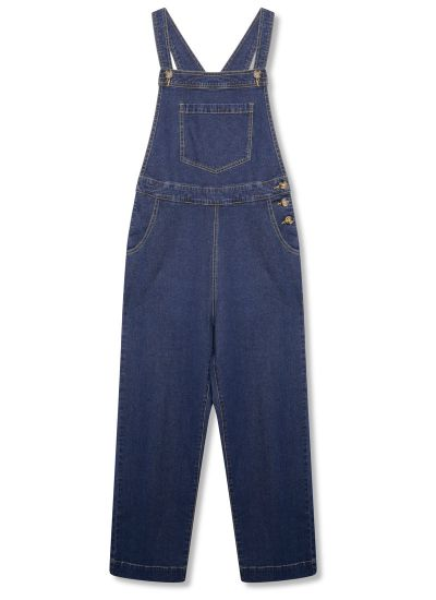Bleecker Indigo Stretch Denim Dungarees