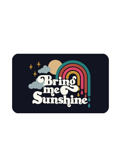 Joanie Clothing Gift Card - Rainbow Bring me Sunshine Design