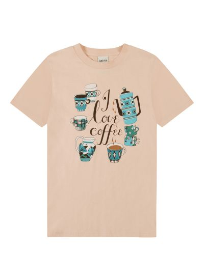Egbert I Love Coffee Slogan Tee Product Front