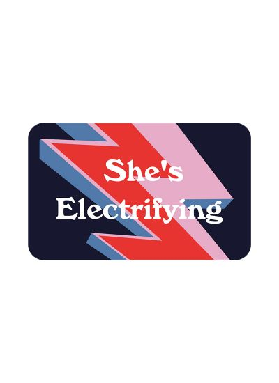 E-Gift Voucher – She's Electrifying