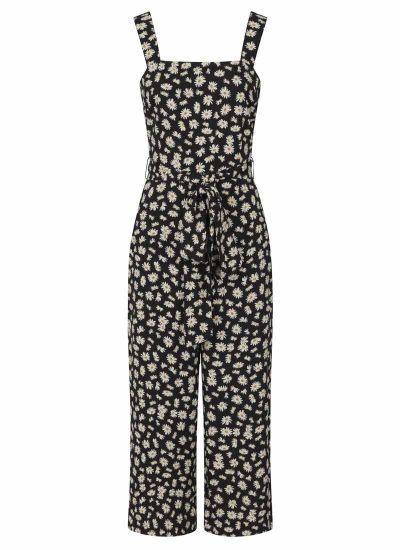 Graziana Daisy Print Jumpsuit Product Front