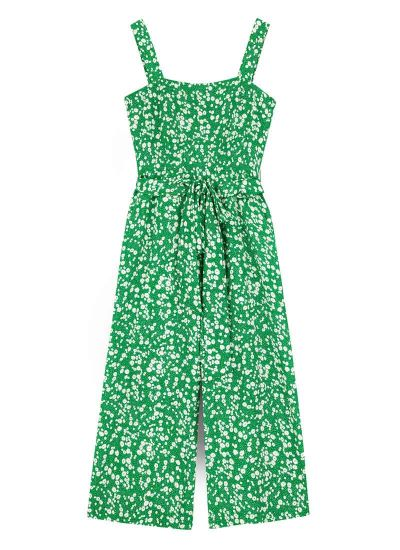 Graziana Ditsy Floral Print Jumpsuit