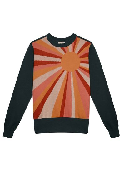 Jocelyn Soulful Sunray Intarsia Jumper