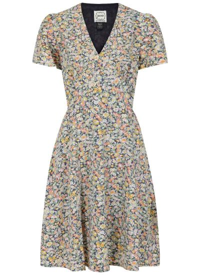 Mercury Dreamy Daisy Print Tea Dress