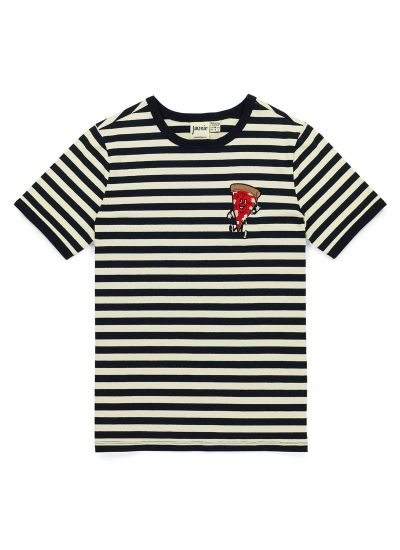 Pete Stripe Pizza Patch Tee