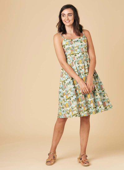 Sunday Provence Print Sundress
