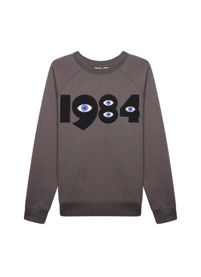 Winston 1984 Sweatshirt Grey Product Front