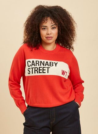 Bailey Carnaby Street Intarsia Jumper Close-Up