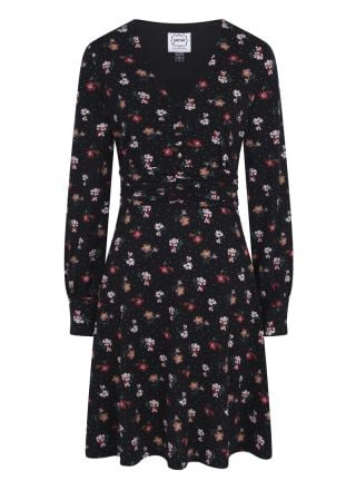 Veronica Floral Print Jersey Dress Product Front