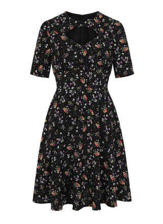 Willa Floral Cut-Out Detail Dress Product Front