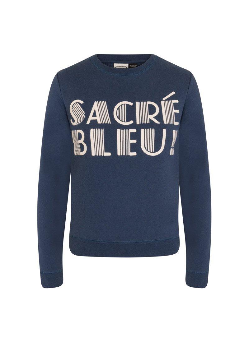 Darcy Sacré Bleu Slogan Sweatshirt Product Front