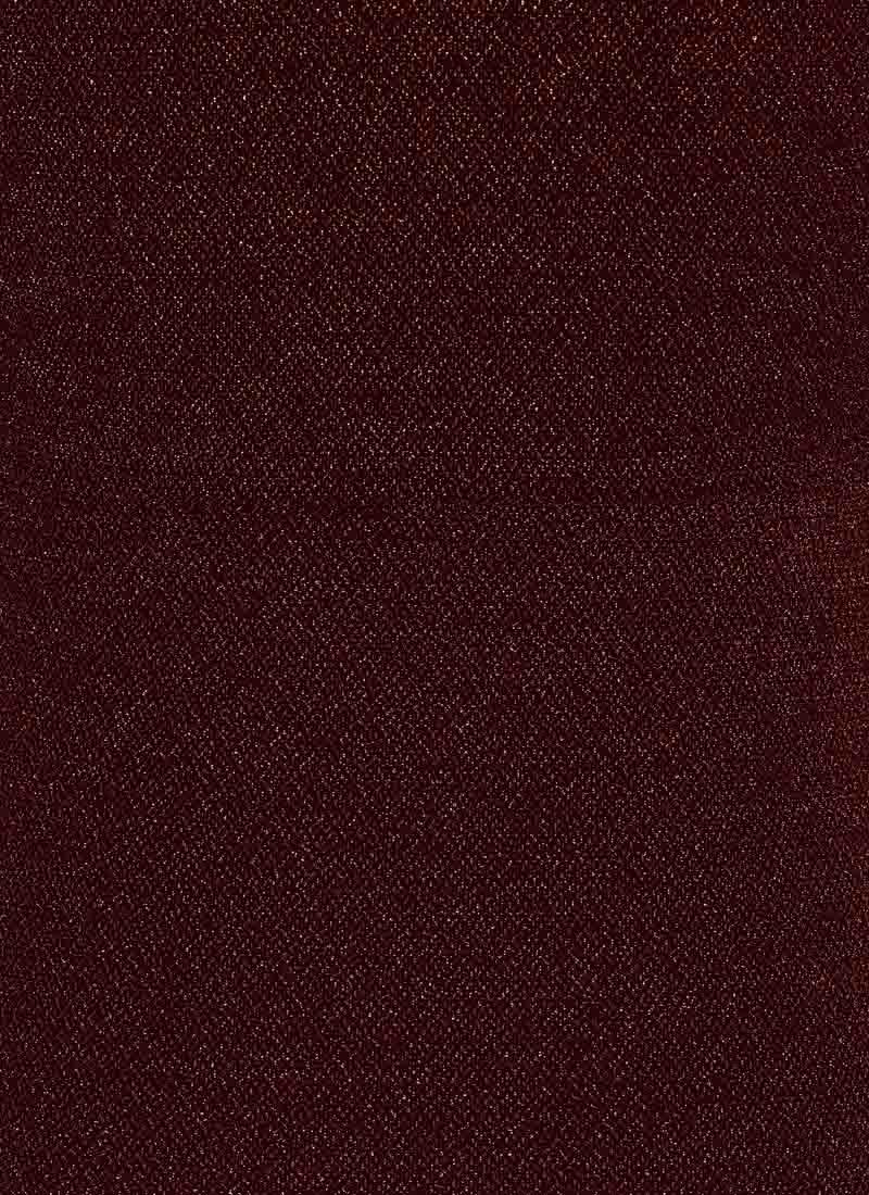Debbie Metallic Frill Midi Dress - Red