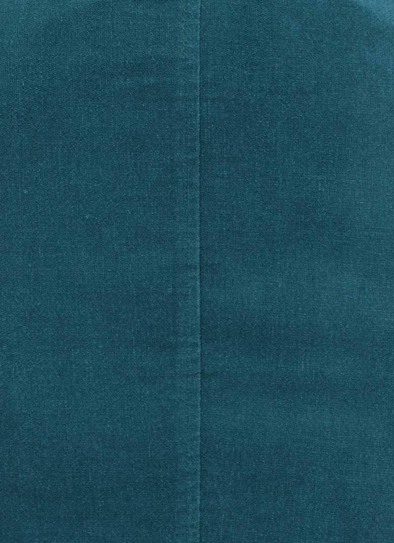 Elle Pocket Pencil Skirt - Blue