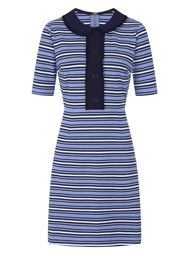Floella Parisian Blue Dress Product Front