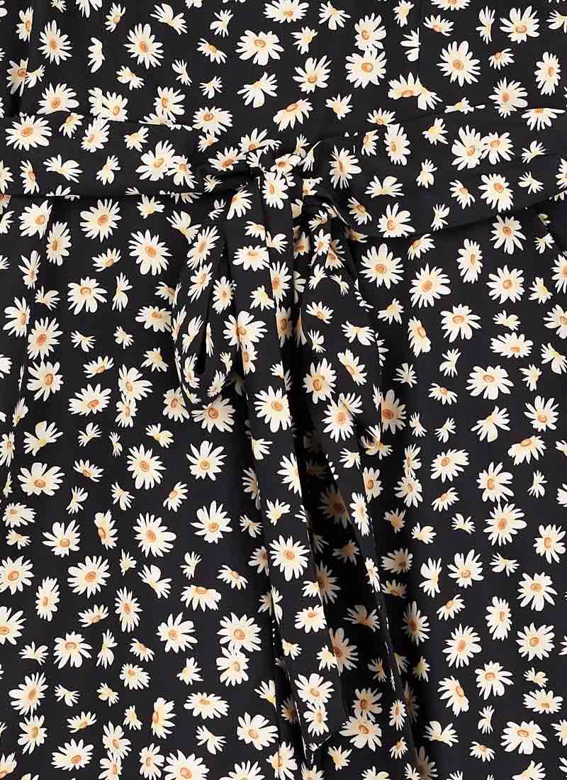 Graziana Daisy Print Jumpsuit