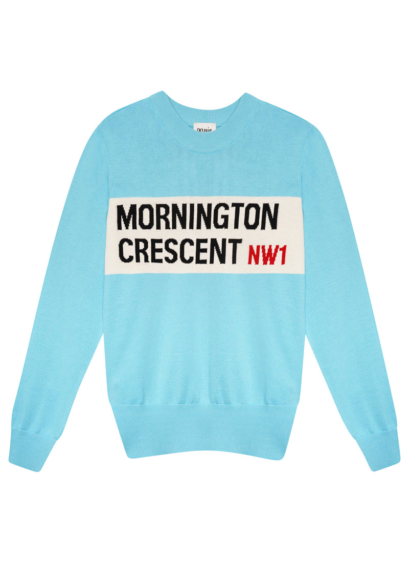 Humph Mornington Crescent Intarsia Jumper Product Front