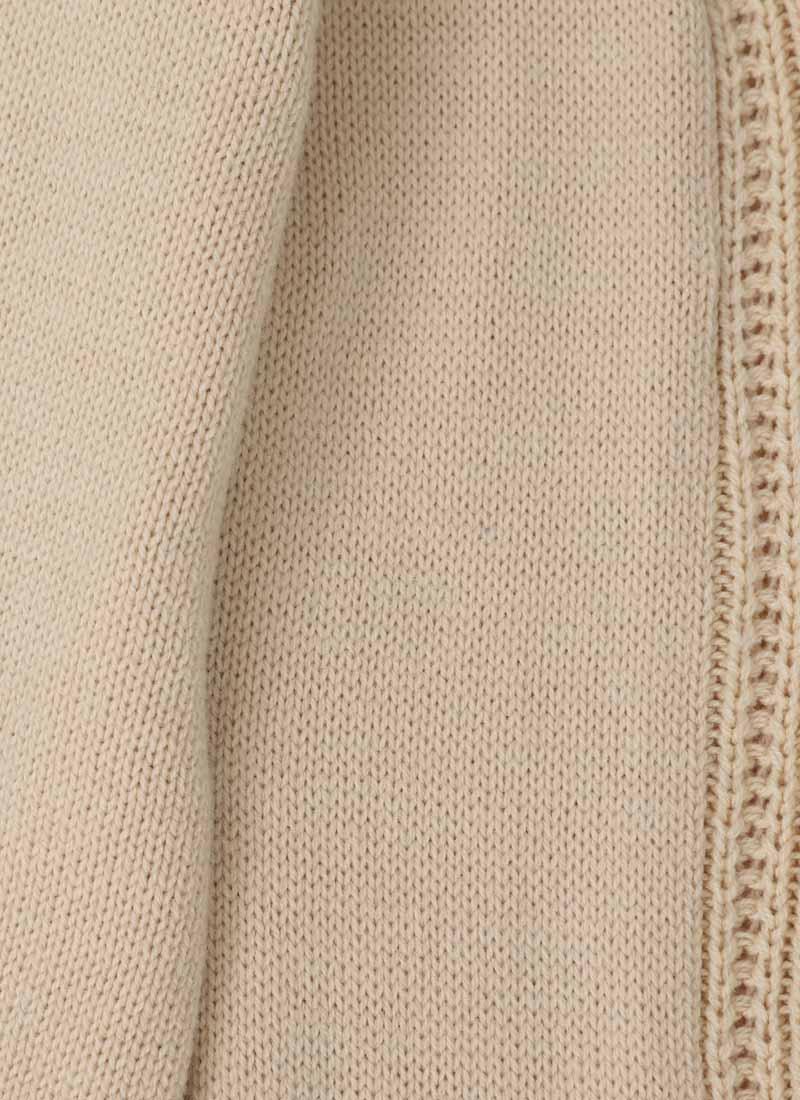 Linda Cable Knit Cardigan - Cream