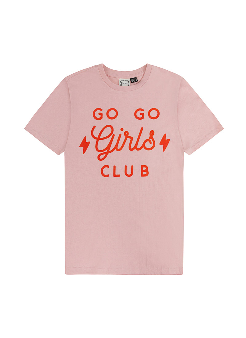 Lada Girls Club Slogan Tee Product Front