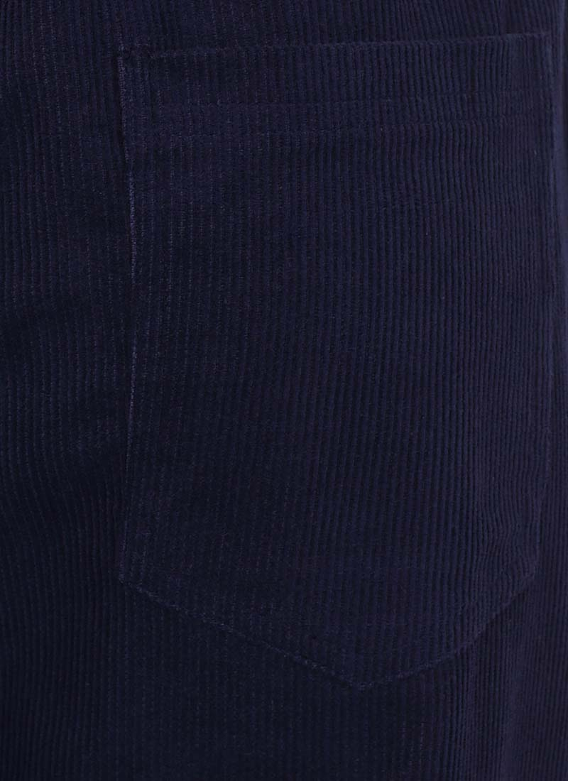 Leroy Cord Dungarees - Blue
