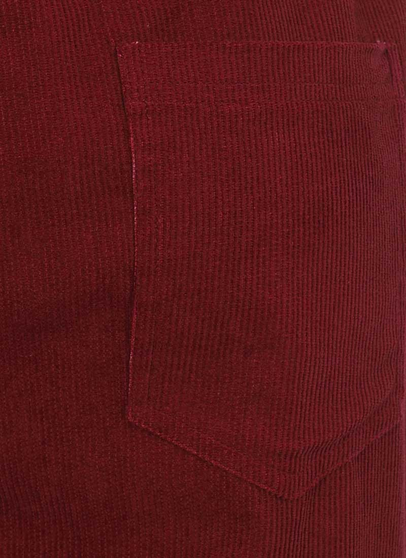 Leroy Cord Dungarees - Cabernet