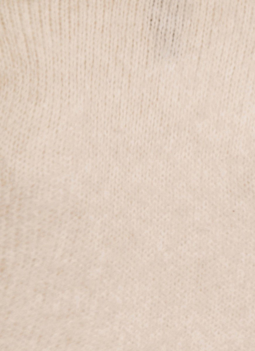 Lois Cable Knit Jumper - Cream