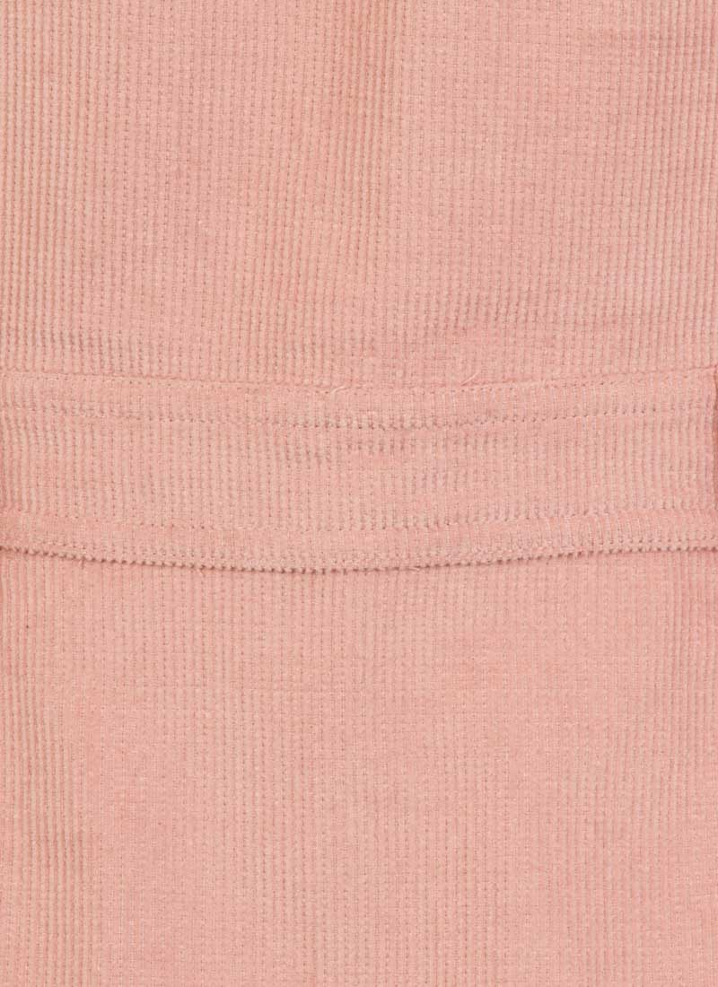 Molly Cord Pinafore Dress - Pink