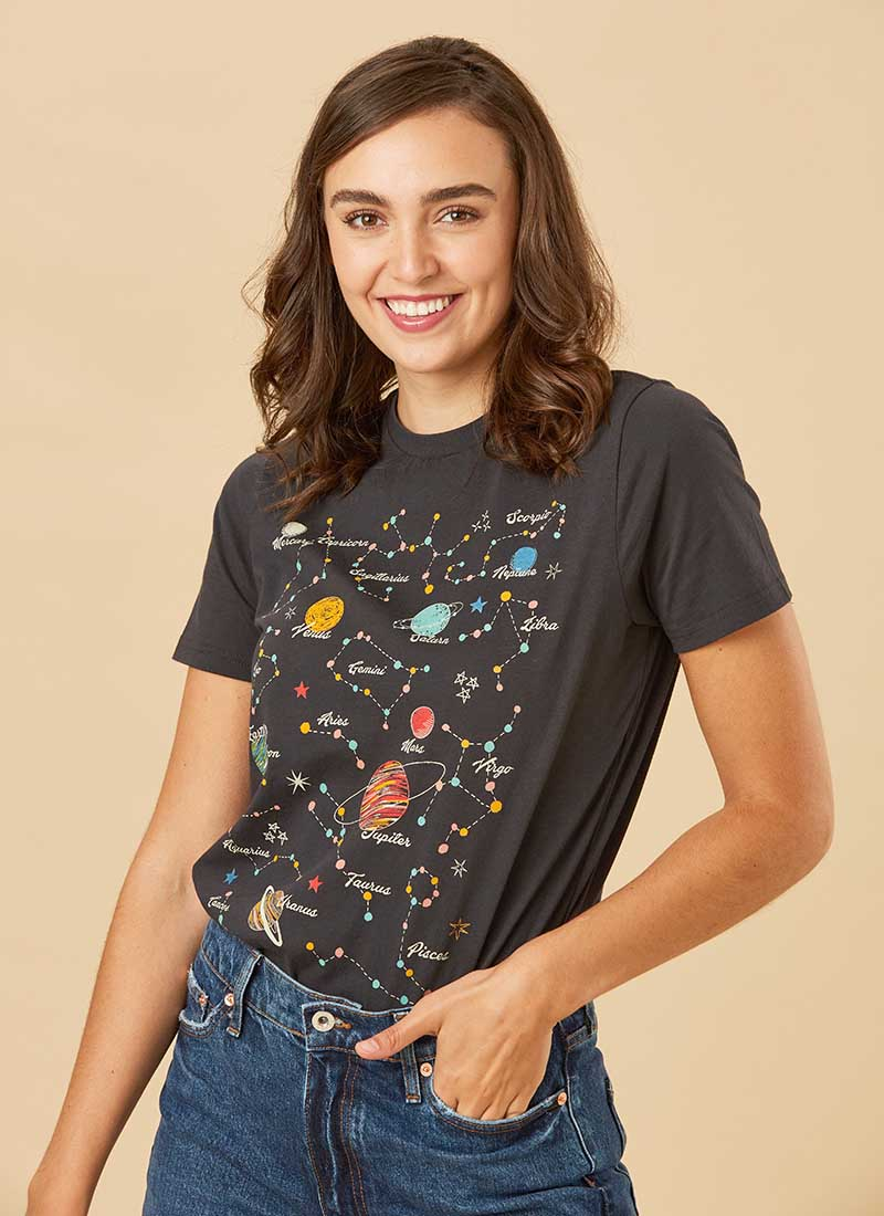 Nichelle Zodiac Planet T-Shirt