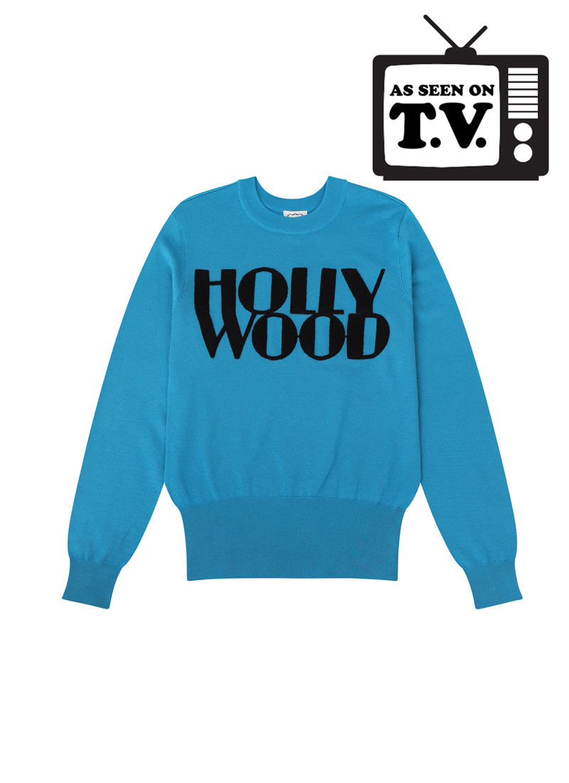Oscar Hollywood Slogan Jumper Product Front