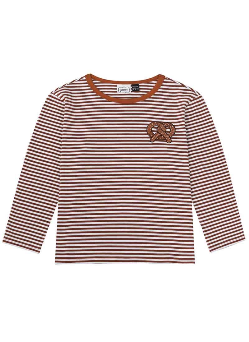 Prez Pretzel Stripe Top Product Front