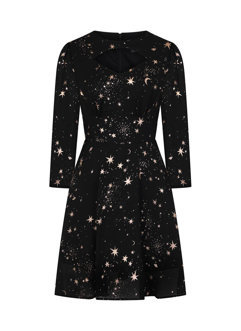 Reece Rose Gold Starry Night Dress Product Front