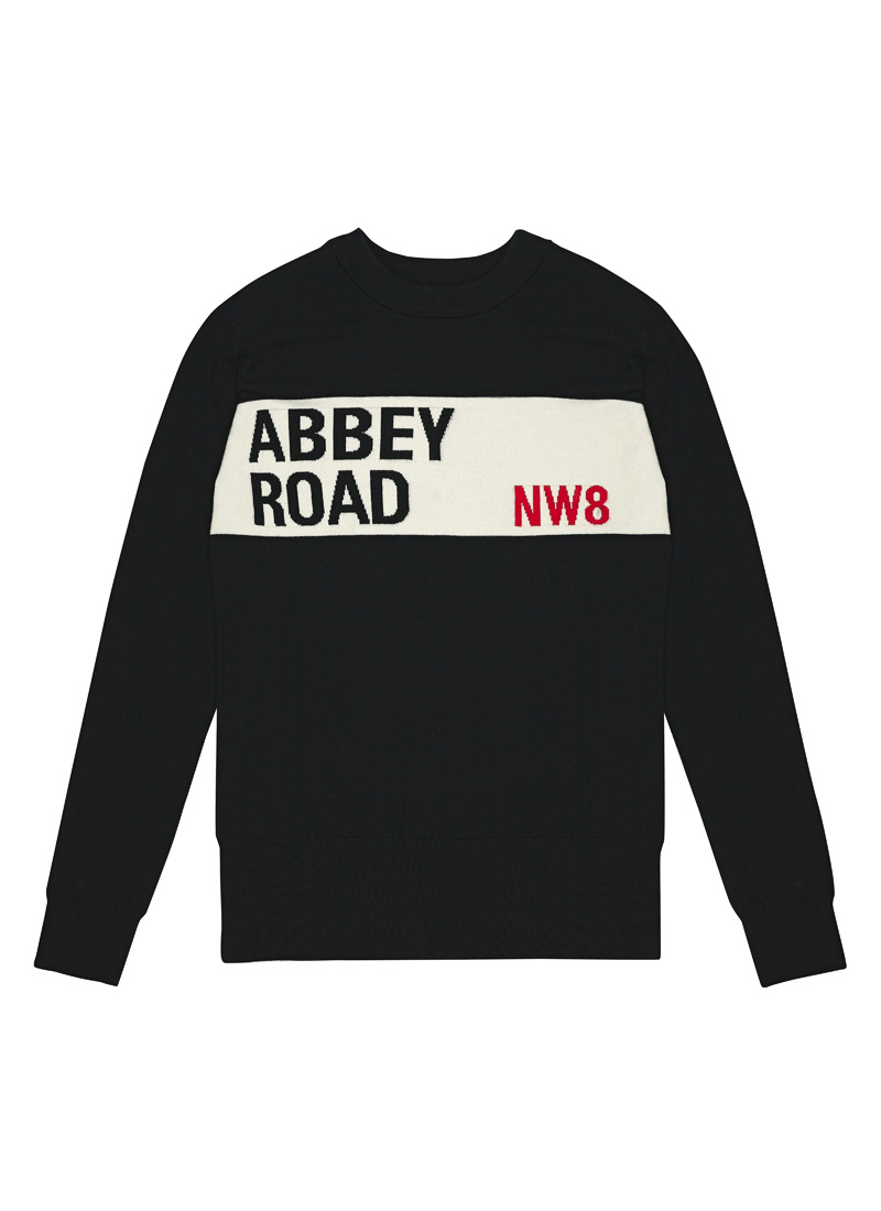 Ringo Abbey Road Intarsia Jumper Product Front