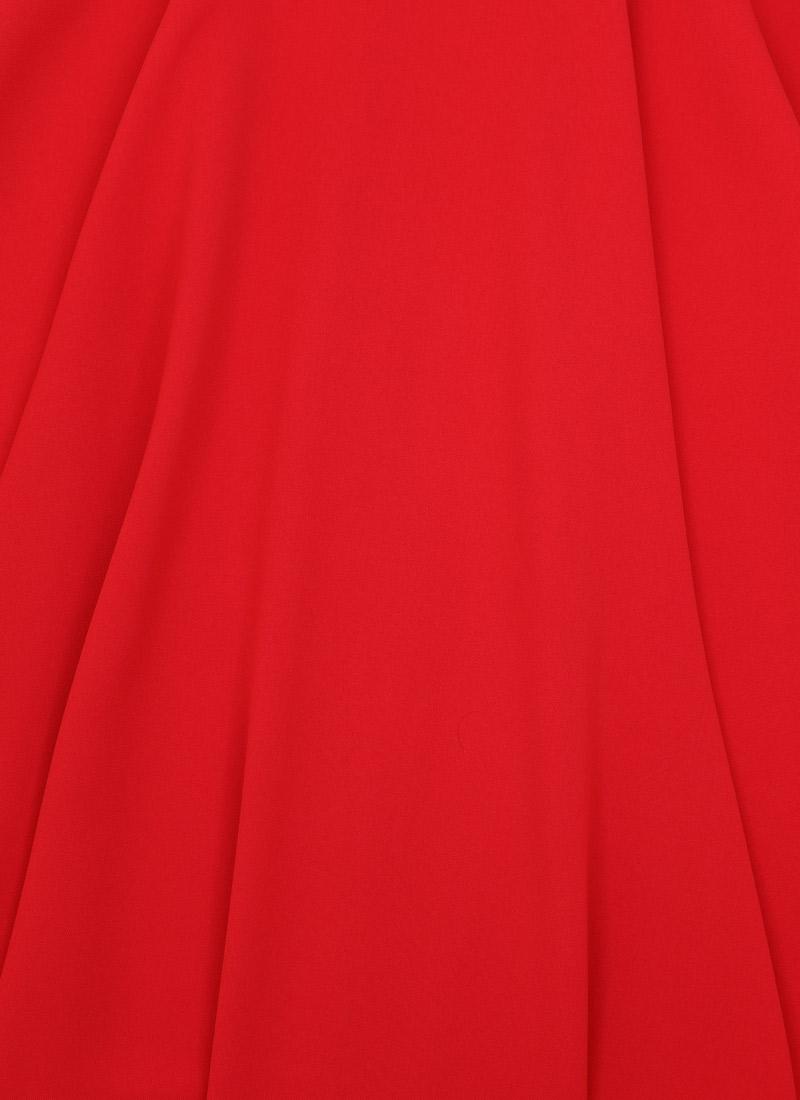 Shirley Full Circle Skirt - Red