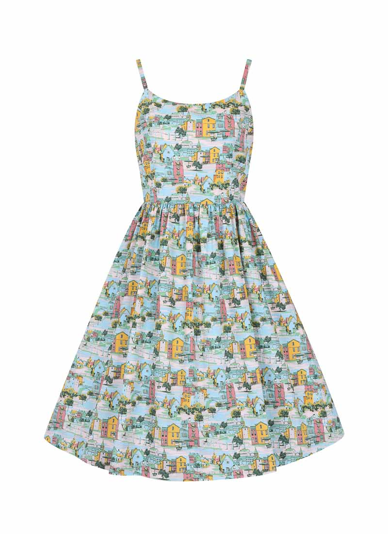 Sunday Provence Print Sundress Product Front