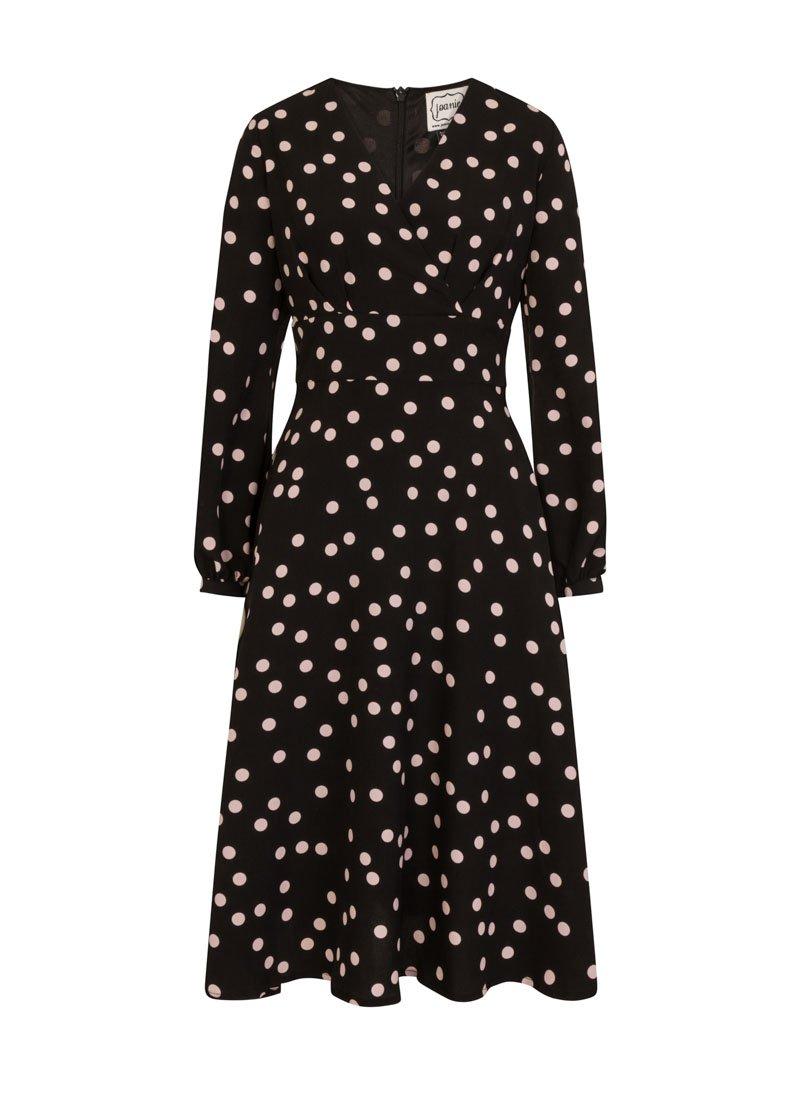 Tiggy Polka Dot Midi Dress Product Front