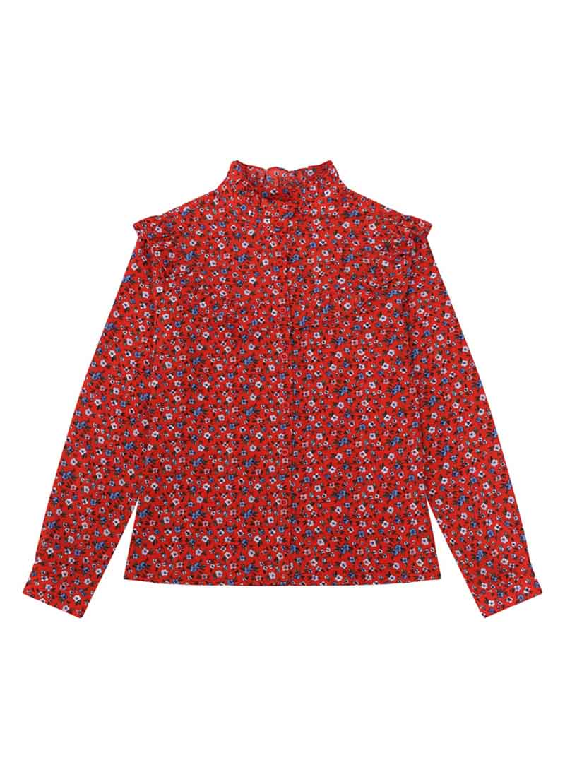 Violetta Ditsy Floral Print Blouse Product Front